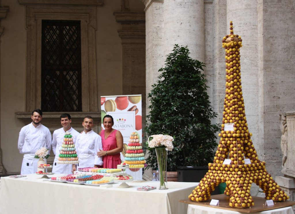 Macaron santabon ambasciata francese