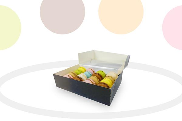 scatola di macaron